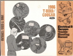 1986 Ford Thunderbird, Mercury Cougar Electrical & Vacuum Troubleshooting Manual