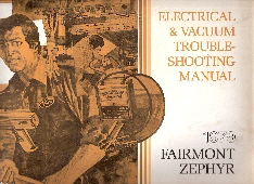 1979 Ford Fairmont / Mercury Zepher Electrical and Vacuum Troubleshooting Manual