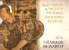 1979 Ford Granada / Mercury Monarch Electrical and Vacuum Troubleshooting Manual