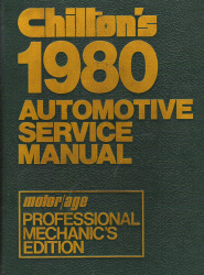1974 - 1980 Chilton Automotive Service Manual
