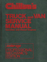 1973 - 1980 Chilton's Truck and Van Service Manual & Labor Guide
