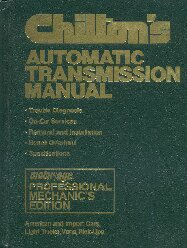 1974 - 1980 Chilton's Automatic Transmission Manual, American and Import Cars