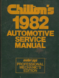 1976 - 1982 Chilton's Automotive Service Manual