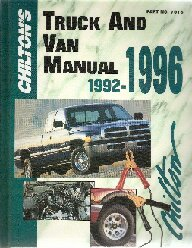 1992 - 1996 Chilton's Truck & Van Repair Manual