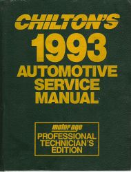 1989-1993 Chilton's Automotive Service Manual