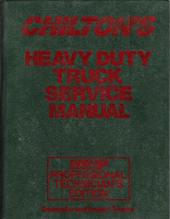 1989 - 1992 Chilton's Heavy Duty Truck Service Manual