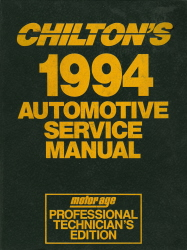 1990 - 1994 Chilton's Automotive Service Manual