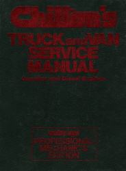 1986 - 1990 Chilton Truck and Van Service Manual