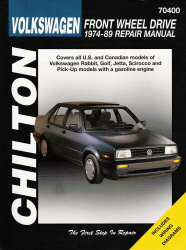 1974 - 1989 Volkswagen Front Wheel Drive, Chilton's Total Car Care Manual