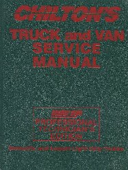 1992 - 1996 Chilton's Truck, Van & SUV Service Manual , Shop Edition