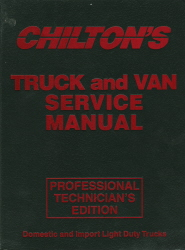 1993 - 1997 Chilton Truck and Van Service Manual