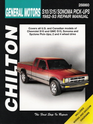 1982 - 1993 Chevrolet S10, GMC S15, Sonoma & Syclone Pick-Ups Chilton's Total Car Care Manual
