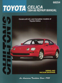 1994 - 1998 Toyota Celica, Chilton's Total Car Care Manual
