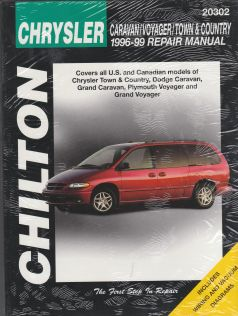 1996 - 1999 Chrysler Town & Country, Dodge Caravan, Grand Caravan, Plymouth Voyager & Grand Voyager, Chilton's Total Car Care Manual