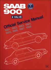 1981-1988 Saab 900 8 Valve Official Service Manual
