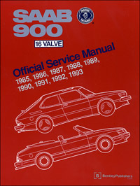 1985 - 1993 Saab 900 16 Valve Official Service Manual