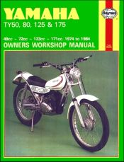 1974 - 1984 Yamaha Trials TY50, TY80, TY125, TY175 Haynes Repair Manual
