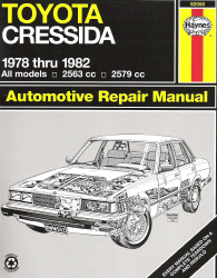 1978 - 1982 Toyota Cressida Haynes Automotive Repair Manual