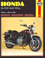 1979 - 1981 Honda Gold Wing GL1100 Haynes Repair Manual