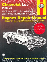 1972 - 1982 Chevrolet LUV Haynes Repair Manual