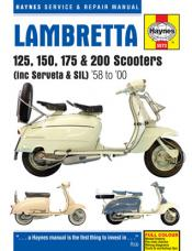1958 - 2000 Lambretta 125, 150, 175 and 200 Scooters Haynes Repair Manual