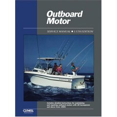 1969 - 1989 30HP and Above Clymer Outboard Repair Manual