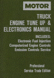 1990 - 1993 MOTOR Chrysler, Jeep, Ford & GM Light Trucks & Vans Engine Tune Up & Electronics Repair Manual
