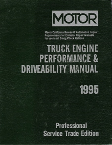 1992 - 1995 MOTOR Domestic Light Truck Performance & Driveability Manual