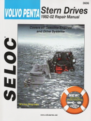 1992 - 2002 Volvo Penta All Ford & GM Engines Stern Drive Repair Manual