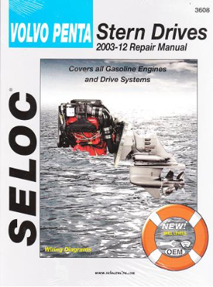 2003 - 2012 Volvo Penta All Gasoline Engines & Drive Systems Stern Drive Repair Manual