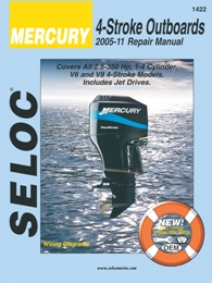 2005 - 2011 Mercury 4-Stroke Outboard Engines Seloc Repair Manual