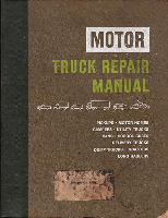 1966 - 1977 MOTOR Truck & Diesel Repair Manual, 30th Edition