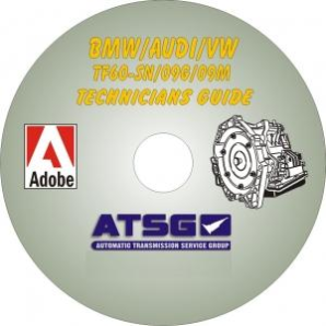 VW 09G / Audi TF60SN Technicians Diagnostic Guide, Mini CD-ROM