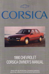 1990 Chevrolet Corsica Owner's Manual