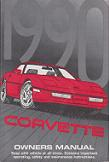 1990 Chevrolet Corvette Factory Owner's Manual