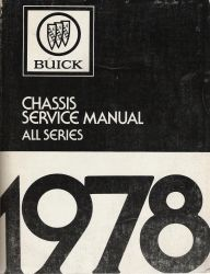 1978 Buick Chassis Service Manual