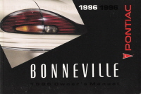 1996 Pontiac Bonneville Owner's Manual