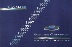 1997 Chevrolet Cavalier Owner's Manual