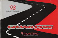 1998 Pontiac Grand Prix Owner's Manual