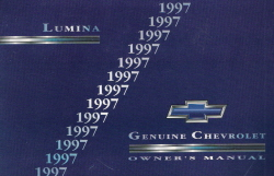 1997 Chevrolet Lumina Owner's Manual