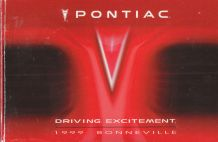 1999 Pontiac Bonneville Owner's Manual