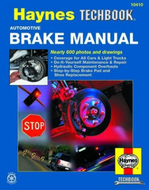 Automotive Brake Haynes Techbook Manual