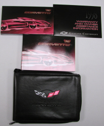 1998 Chevrolet Corvette Factory Owner's Portfolio