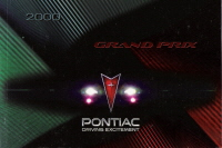 2000 Pontiac Grand Prix Owner's Manual