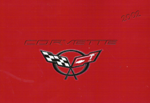 2002 Chevrolet Corvette Factory Owner's Manual