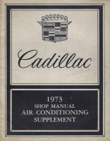 1973 Cadillac Air Conditioning Supplement Shop Manual