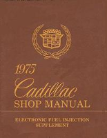 1975 Cadillac Electronic Fuel Injection Shop Manual Supplement