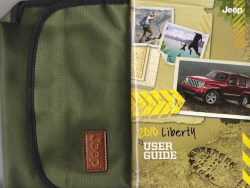 2010 Jeep Liberty User Guide with Case and Owner's Information DVD