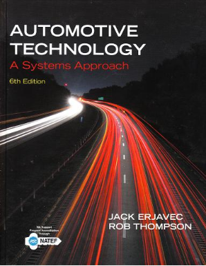 Automotive Technology: A Systems Approach, 6th Edition, Hardcover