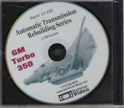 GM Turbo 350 (1969-1986) Transmission Rebuilding DVD